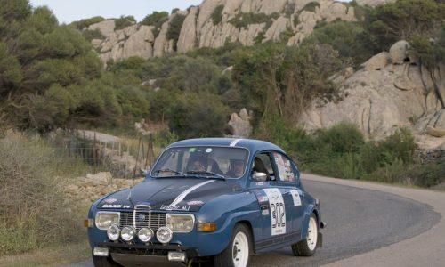 Alla Saab di Gandino e Scarcella la 2° Regolarità Storica Costa Smeralda.