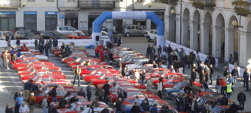 Lancia Fulvia International Meeting: una grande festa a Biella.
