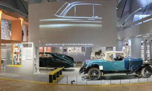 Mostra a Londra celebra il valore del progetto automobile.