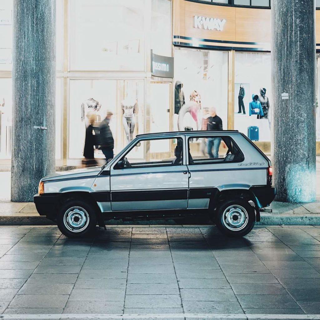 La Fiat Panda 4X4 dell'Avvocato all'asta a 37mila euro.