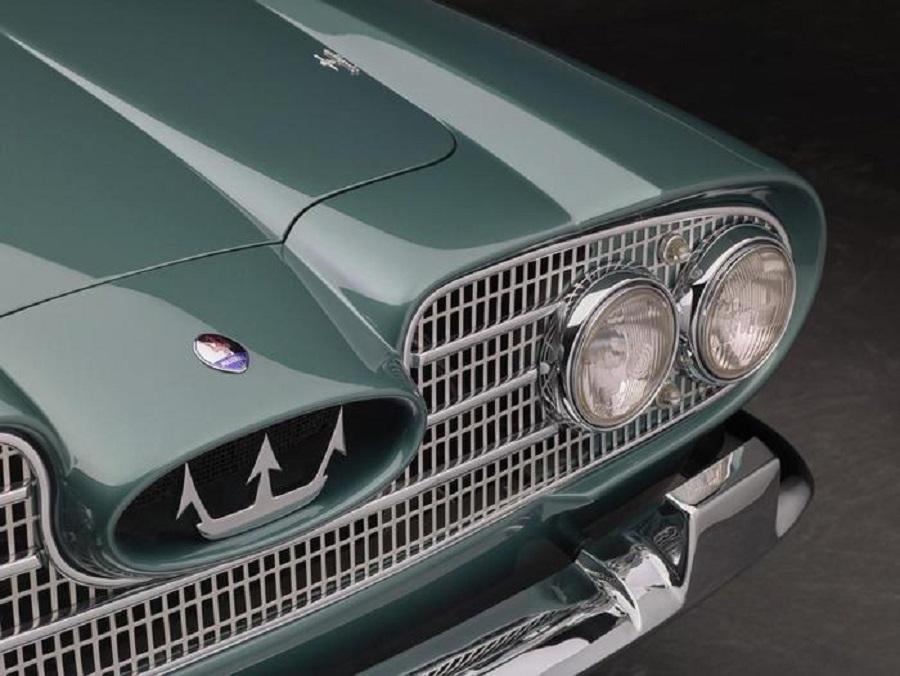 Maserati 5000 GT Coupé Scia di Persia, presentata 60 anni fa.