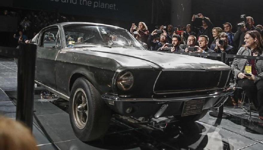 La Mustang di Bullitt venduta a 3,7 milioni di dollari!