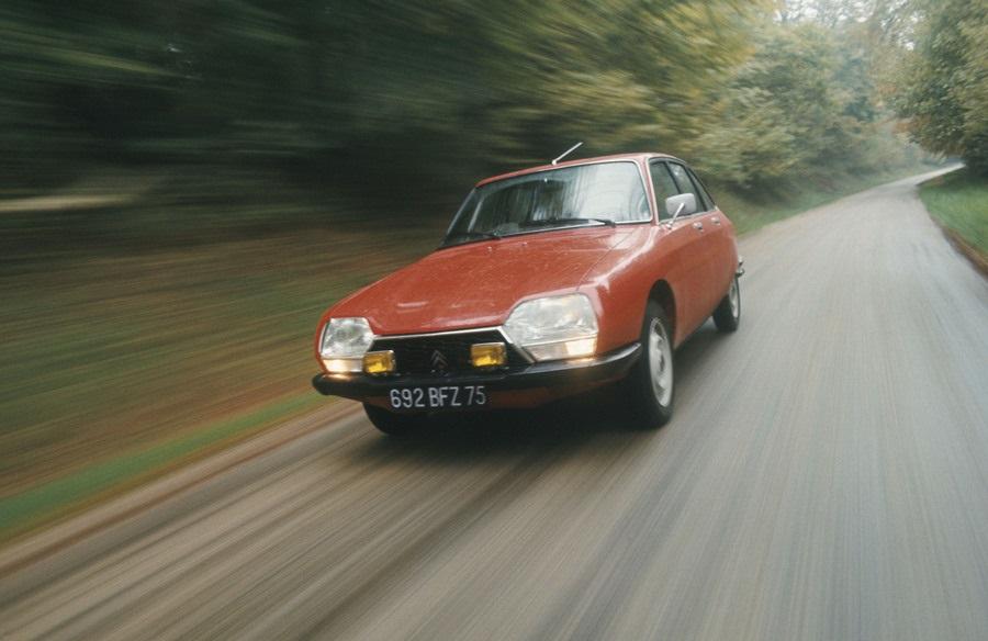 50 anni di Citroen GS
