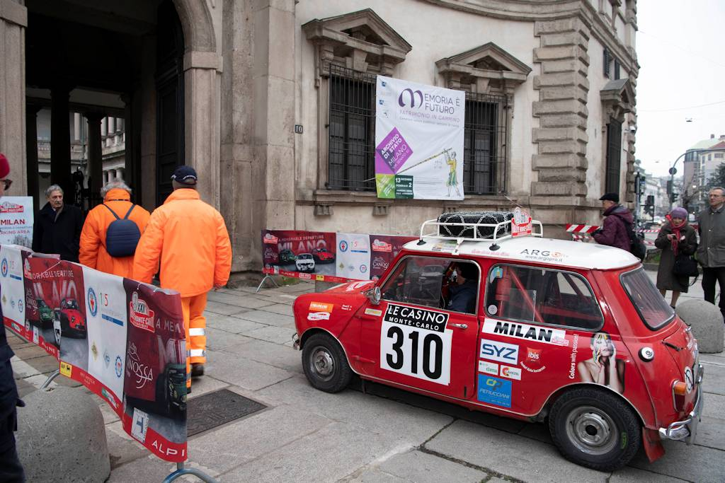 Venerdì, da Milano, parte l'avventura italiana del Rallye Monte-Carlo Historique.