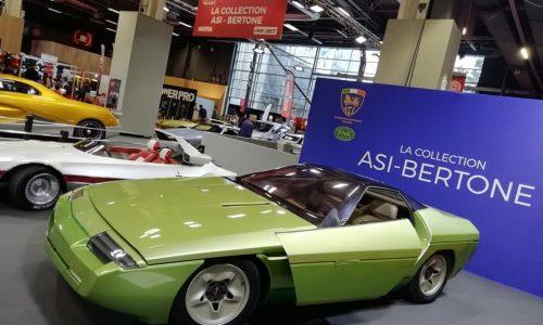ASI porta la Collezione Bertone al salone Retromobile 2020.