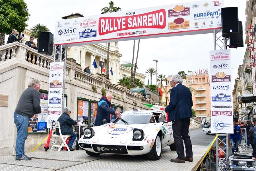 Semaforo verde alle iscrizioni del 35° Sanremo Rally Storico