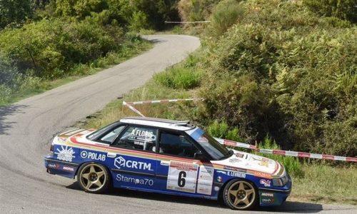 Historic Rally delle Vallate Aretine: una gara, tanti trofei.