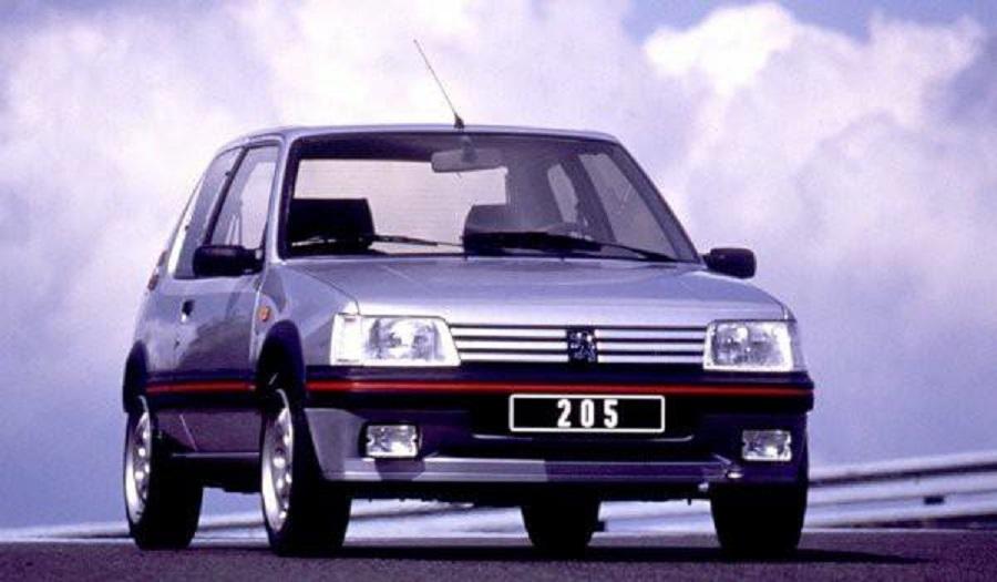 Peugeot 205 GTI, una storia di successo dagli anni Ottanta.