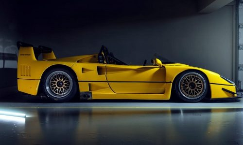Una Ferrari F40 scoperta? Impensabile ma si, esiste!