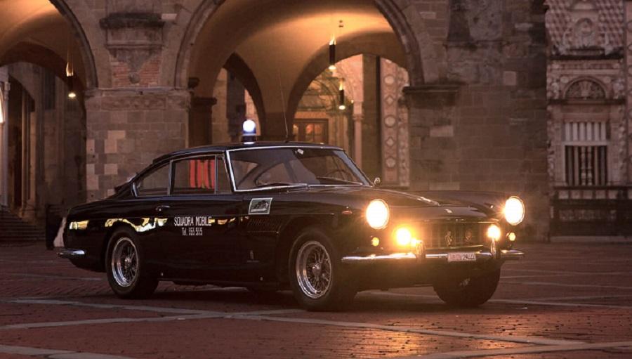 Si vende la Pantera per antonomasia: la Ferrari 250 GTE ex-Polizia del 1962.