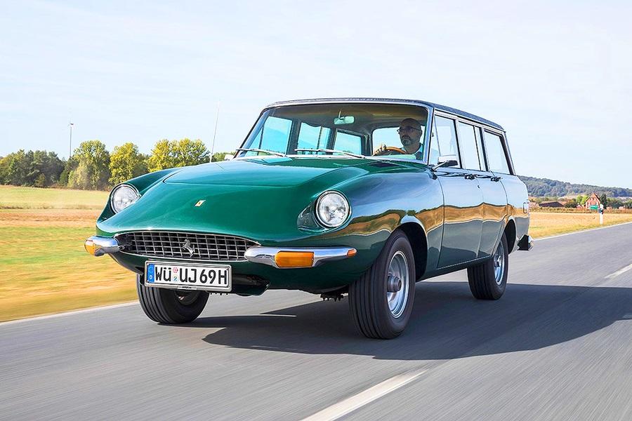 Già negli anni settanta qualcuno tento la strada unendo Ferrari e Jeep.