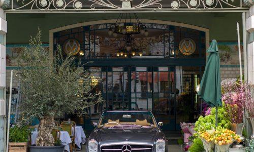 Mercedes Pagoda elettrica, l'idea vincente di Ionic Cars.