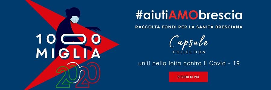 AiutiAMObrescia: la 1000 Miglia con Luca Roda per un giusta iniziativa solidale.