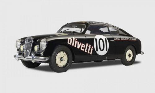 Una rara Lancia Aurelia B20 da corsa tornata a nuova vita.