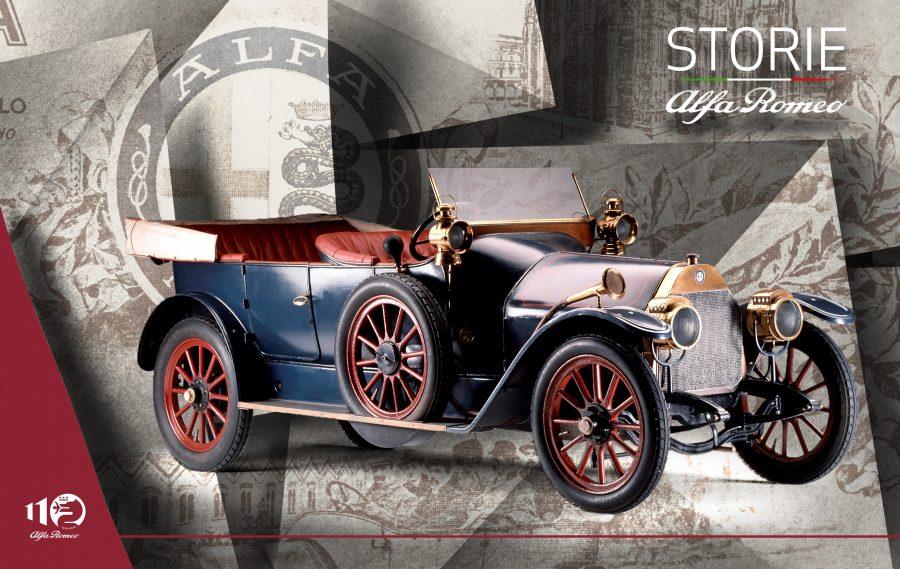 """""""Storie Alfa Romeo"""", prima puntata: a bordo della 24 HP dalle origini alle prime vittorie internazionali."""