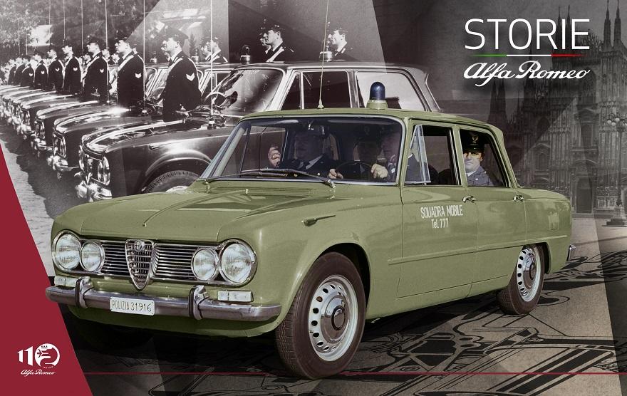 """""""Storie Alfa Romeo"""" nella quinta puntata le """"Gazzelle"""" e """"Pantere"""" del biscione al servizio della legge."""