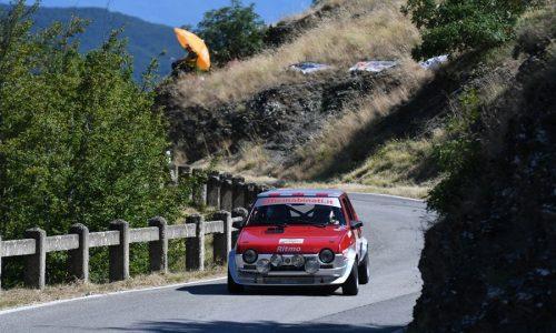 Michelin Historic Rally Cup 2020: Franco Grassi sfata la sorte al Vallate Aretine.