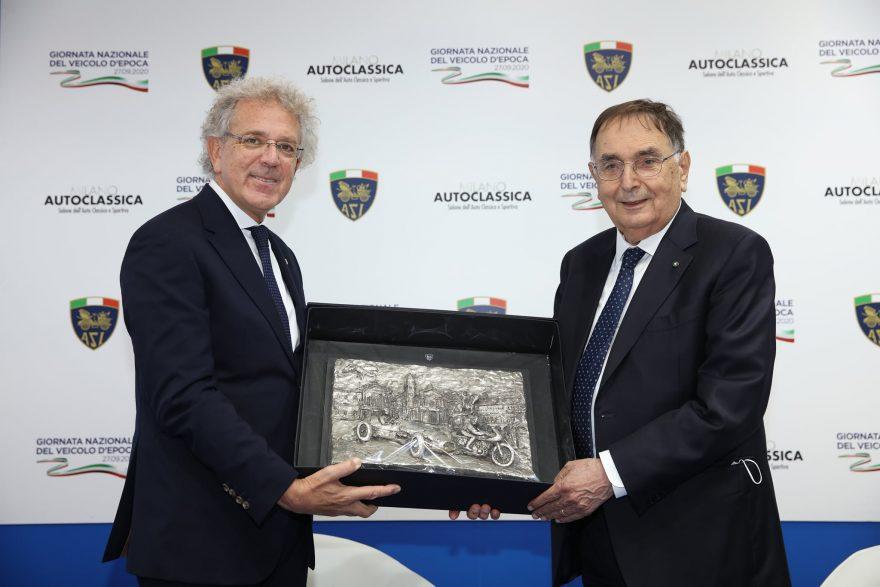 Il Premio per il Motorismo Storico dell'ASI assegnato a Giampaolo Dallara.