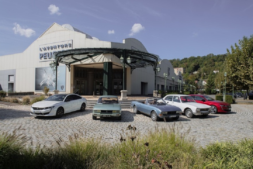 Peugeot compie 210 anni, ingresso di 1 euro museo Sochaux.
