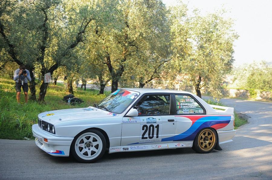 Una Bmw M3 sbaraglia tutti alla 2^ Coppa Città di Pistoia.