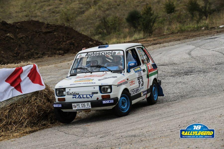 La piu piccola emozione al Rallylegend: Polato e la sua Fiat 126.