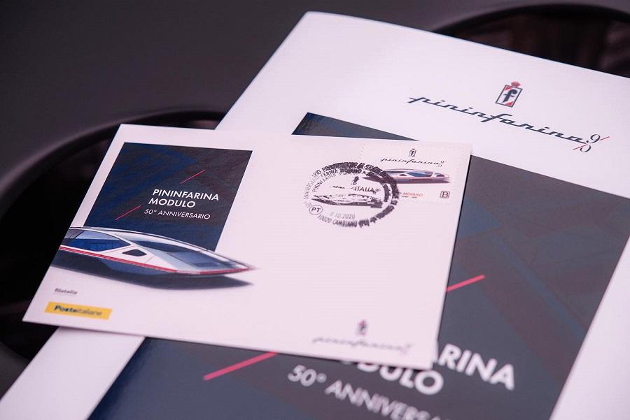 Francobollo per il design avveniristico di Pininfarina