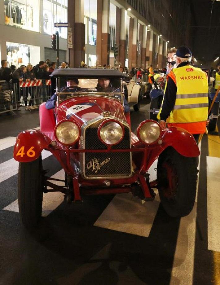 1000 Miglia 2020 – Terza tappa da Roma a Parma.