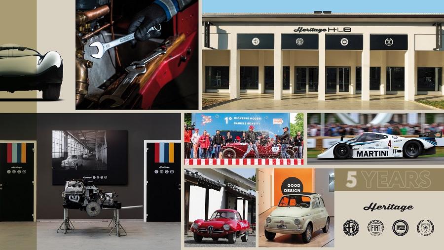 FCA Heritage celebra i suoi primi cinque anni di vita.