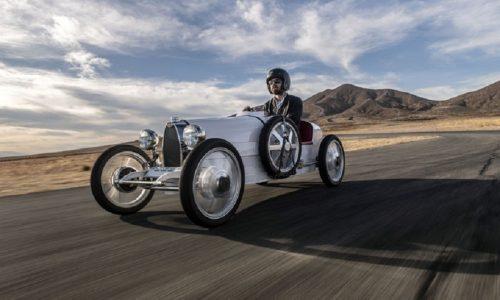 Bugatti Baby II, arriva copia in scala della Type 35.