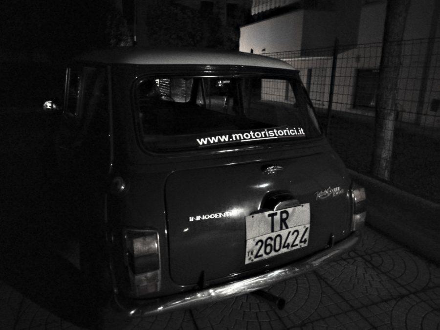 mini, motoristorici, notte