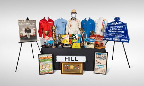 All'asta la collezione Phil Hill Automobilia da Gooding & Company.