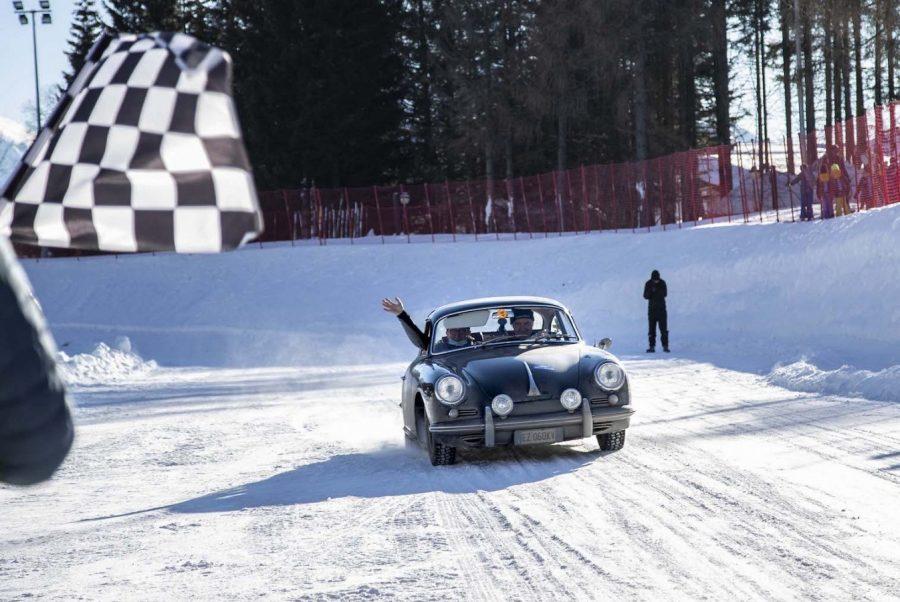 Alla Winter Marathon 2021 il Trofeo Eberhard sul lago ghiacciato a Bisi-Cantarini.
