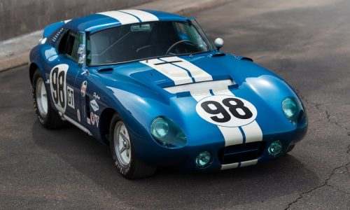 All'asta un esemplare di Cobra Daytona Coupé del 1965.