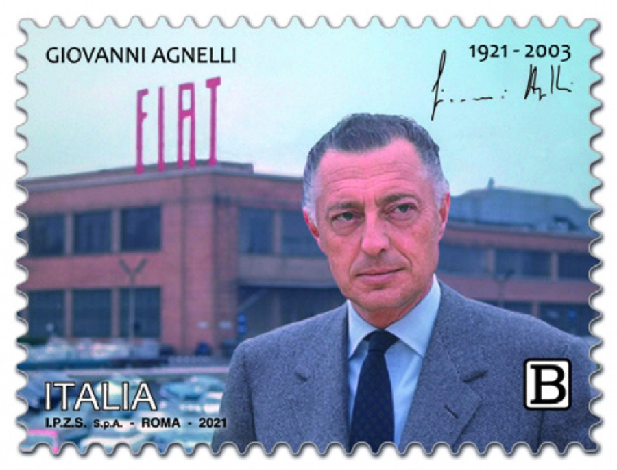 Centenario nascita Gianni Agnelli: arriva francobollo.