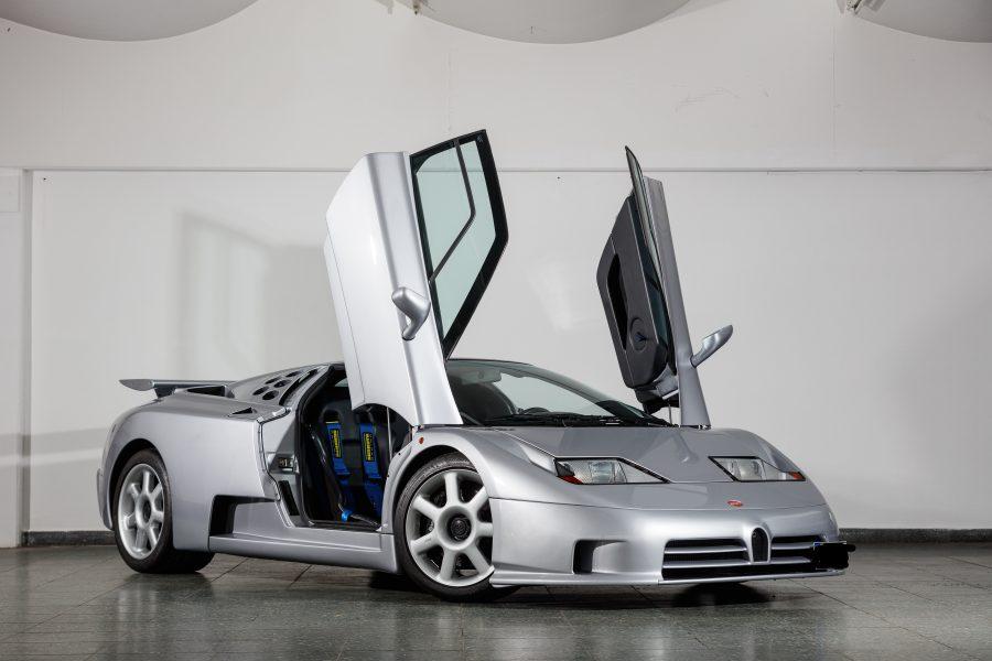 Bugatti celebra i 30 anni dal debutto della iconica EB110.