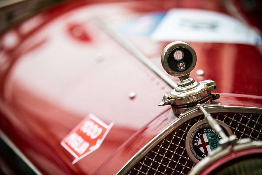 """Alfa Romeo protagonista della 39esima edizione della """"1000 Miglia""""."""