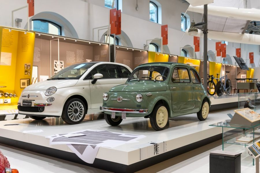 La leggendaria Fiat 500 protagonista del nuovo ADI Design Museum.