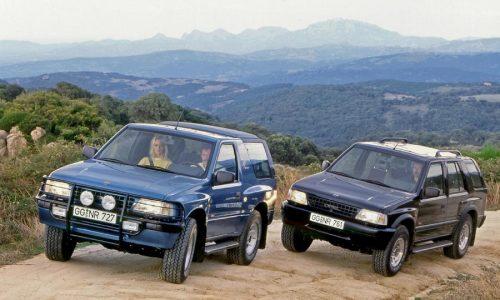 Opel Frontera, fuoristrada del Giro del Mondo in 21 giorni.