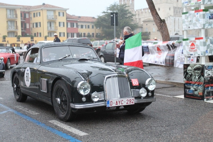 """13^ edizione della corsa organizzata dal Club della Mille Miglia """"Franco Mazzotti""""."""