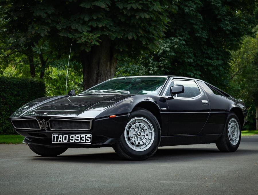 Maserati Merak SS, all'asta uno dei 787 esemplari.