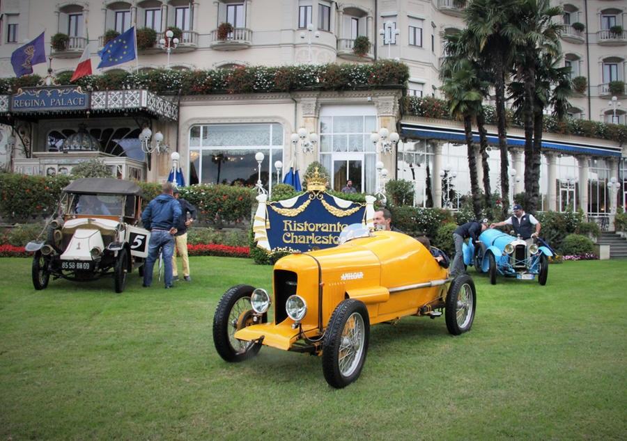 Arona-Stresa-Arona, torna ardimentosa competizione del 1897.