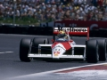 Ayrton Senna (BR), Honda Marlboro McLaren MP4/4. Circuit unknown, 1988