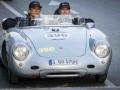 Jacky Ickx, Karl-Friedrich Scheufele, Porsche 550 Spyder RS Mille Miglia 2014, Brescia, 15.05.2014 (c) Alexandra Pauli for Chopard