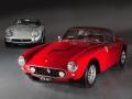 1967 Ferrari 275 GTB/4 (left) and 1960 Ferrari 250 GT SWB (right