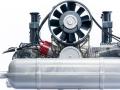 Modellino motore Porsche -4
