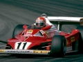 1977 Formula One World Championship. French Grand Prix, Dijon. Niki Lauda (A). Scuderia Ferrari Marlboro 312T2.