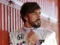 Alonso con Orologio McLaren