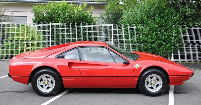 Ferrari 308: la svolta del 1975