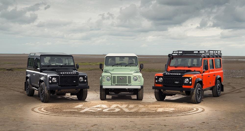 Land Rover Defender: edizioni speciali per l'ultimo anno di produzione.
