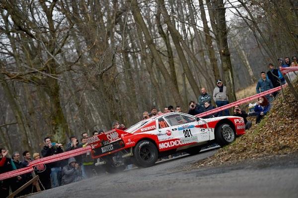 La mitica Lancia Rally 037 fa suo il Rally 1000 Miglia Storico.